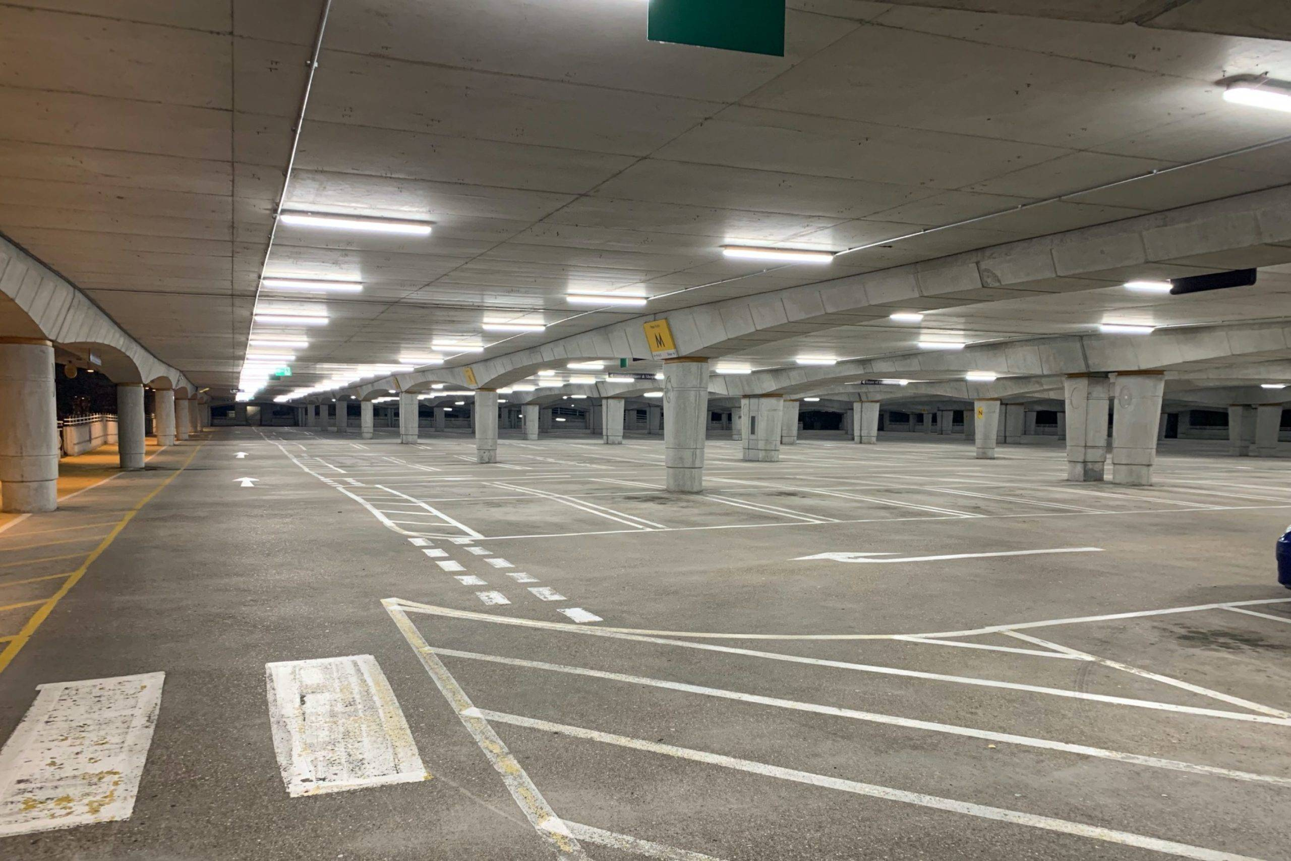 Parking bluewater
